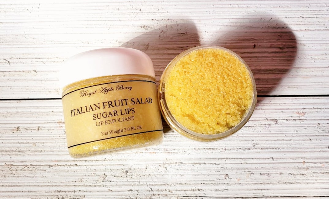 Image of ITALIAN FRUIT SALAD SUGAR LIP EXFOLIANT