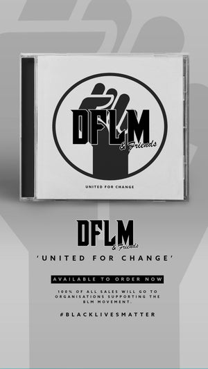 Image of DFLM & FRIENDS 'United For Change' CD