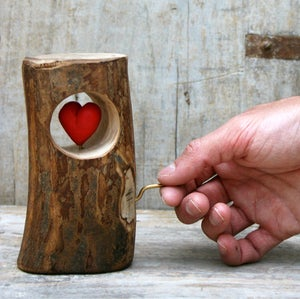 HEART IN THE LOG automa
