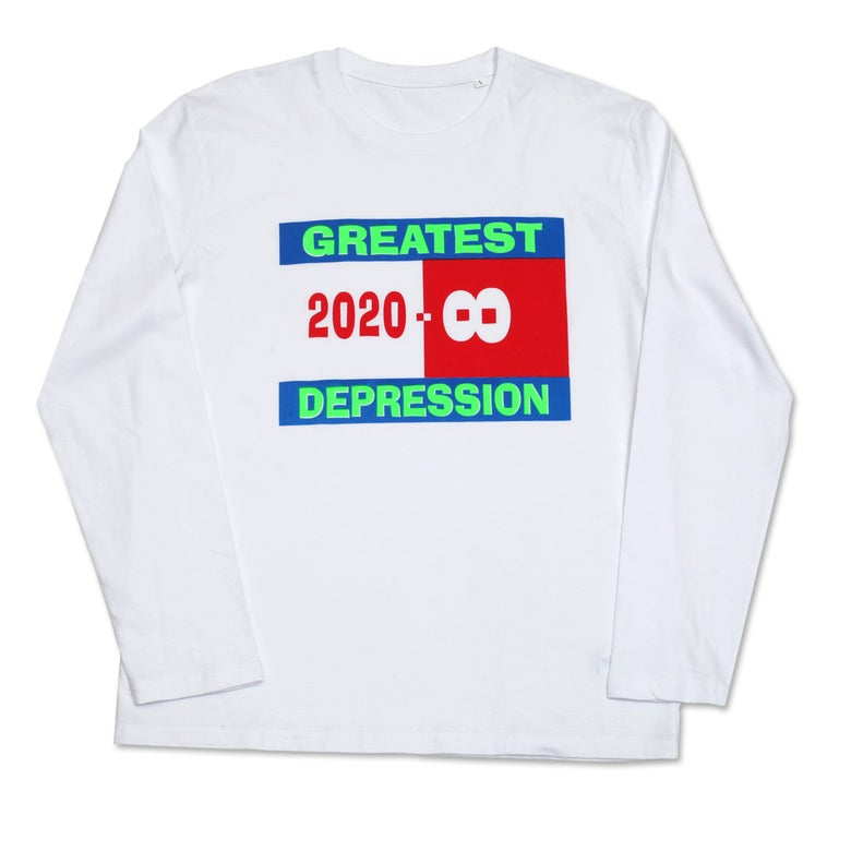 Image of GREATEST DEPRESSION LONGSLEEVE
