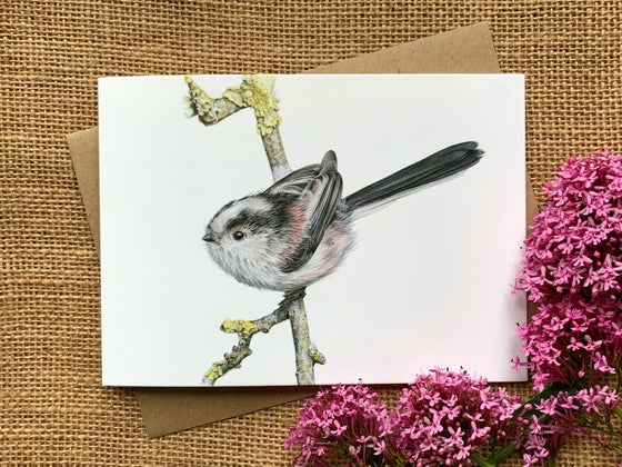 Image of 'Longtail' Greetings Card