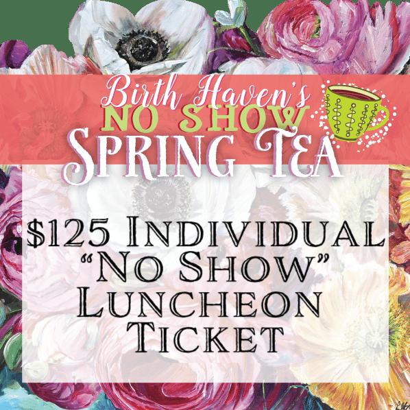 Image of SPRING TEA • Single Ticket