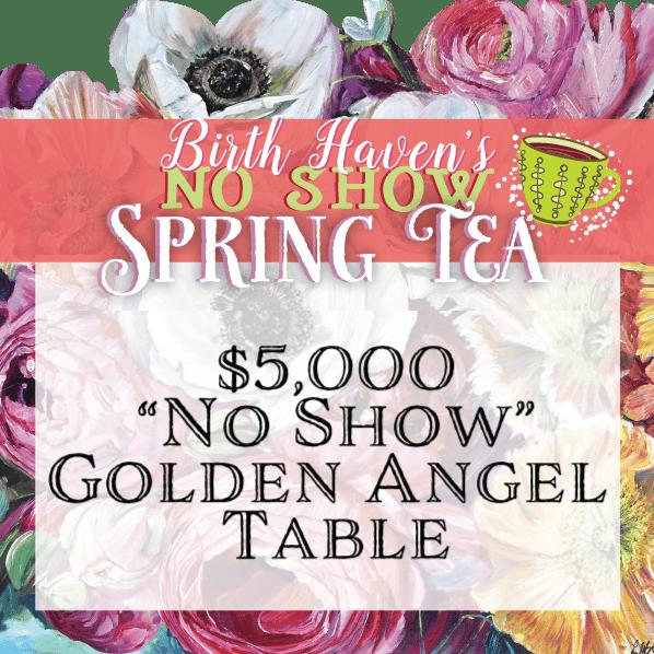Image of SPRING TEA • Golden Angel Table