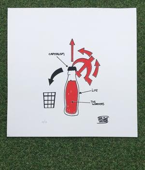 Image of 'The Bottle Opener' Original Art by ZsaZsa Sapien