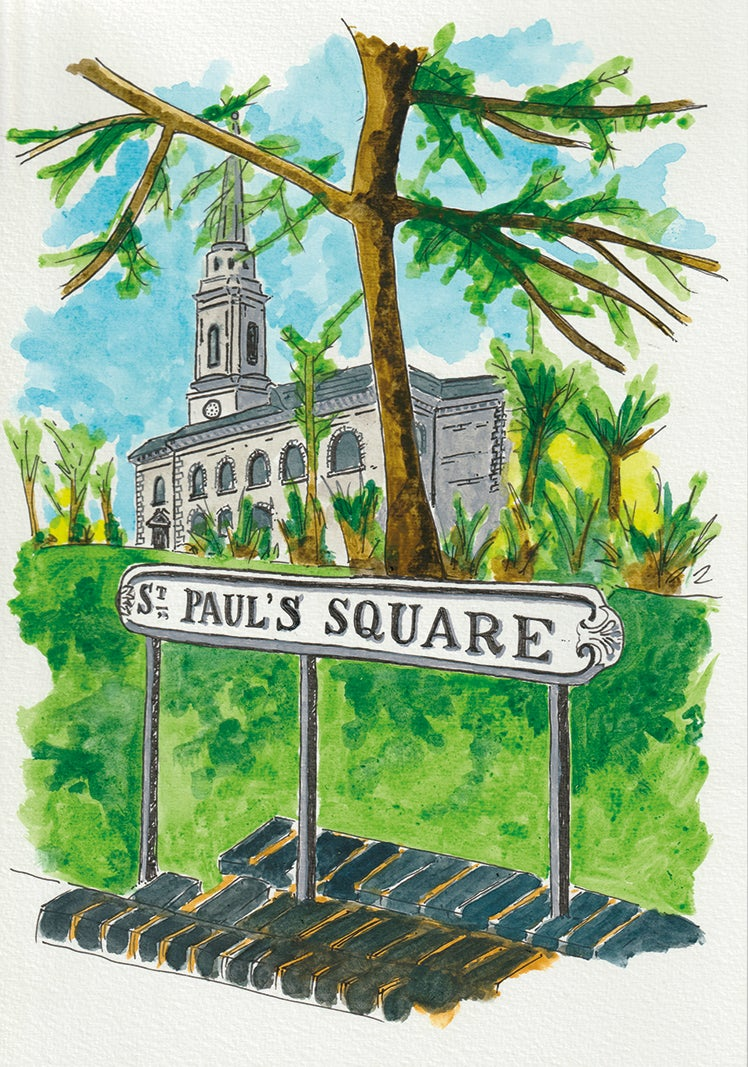 Image of St Paul's Square, Birmingham