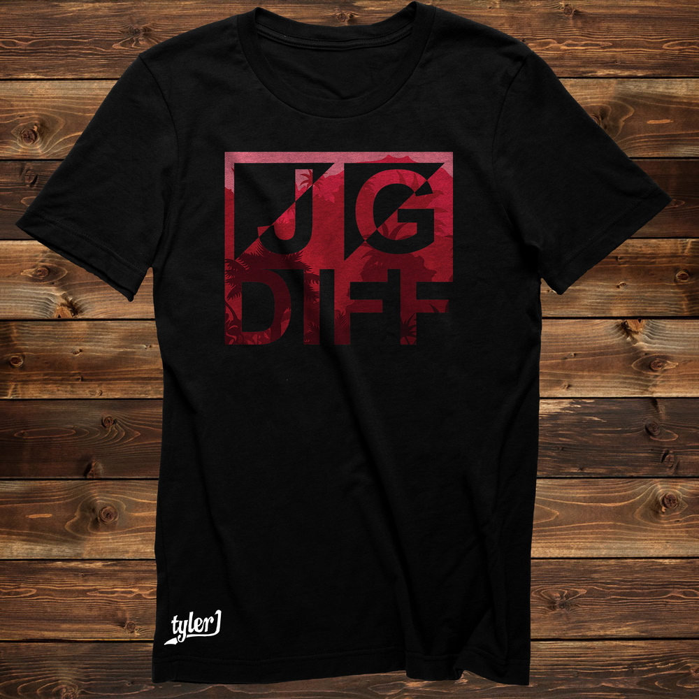 JG Diff Red Tee