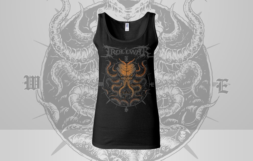 Image of *NEW* KRAKEN VS TRAVELERS LADIES TANK-TOP LIMITED EDITION