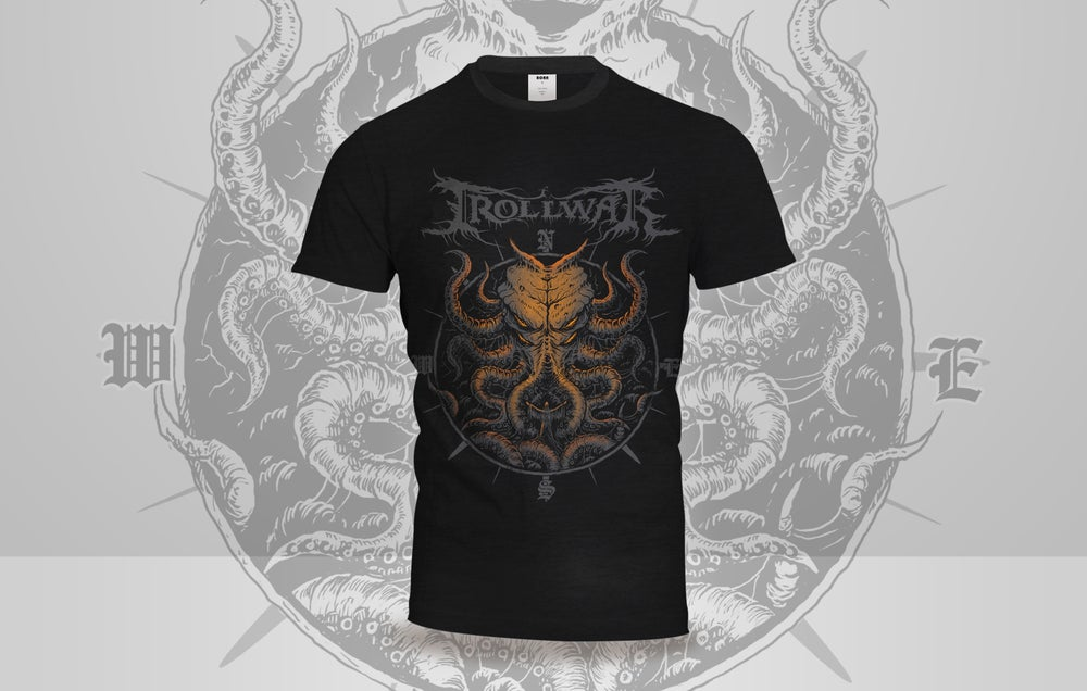 Image of *NEW* THE KRAKEN VS TRAVELER T-SHIRT LIMITED EDITION