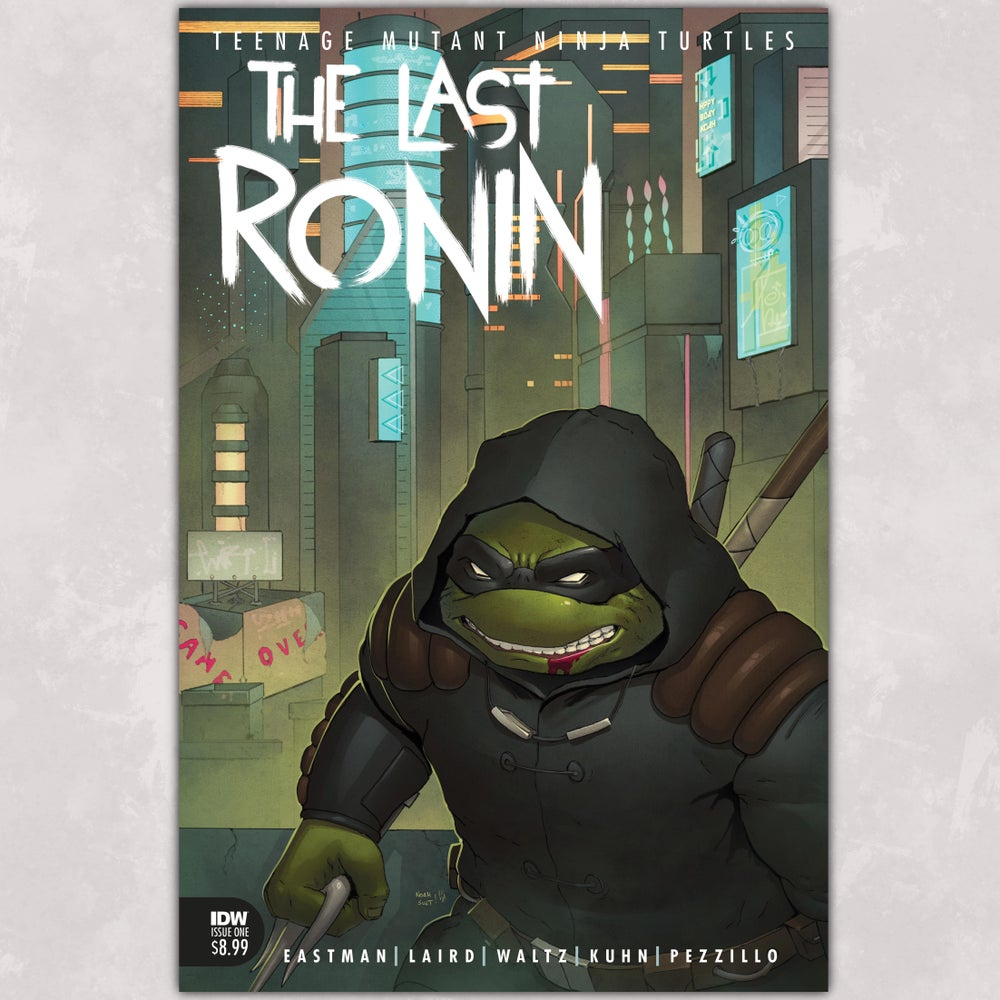 tmnt the last ronin art