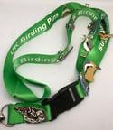 Bird Pin Badge Group Lanyard - Green
