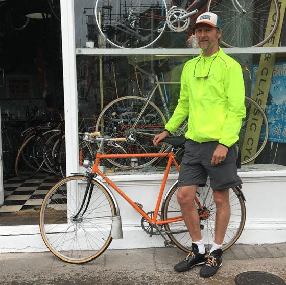 Image of Hercules town bike 58cm