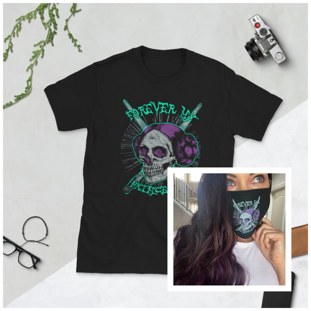 Image of FOREVER MY PRINCESS T SHIRT and MASK