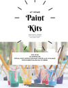 At home paint kits (w/ Delivery)