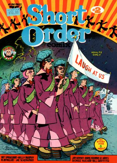 Image of Short Order Comix #2