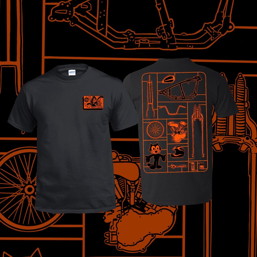 Image of DicE x LLPS Oakland Orange Tee