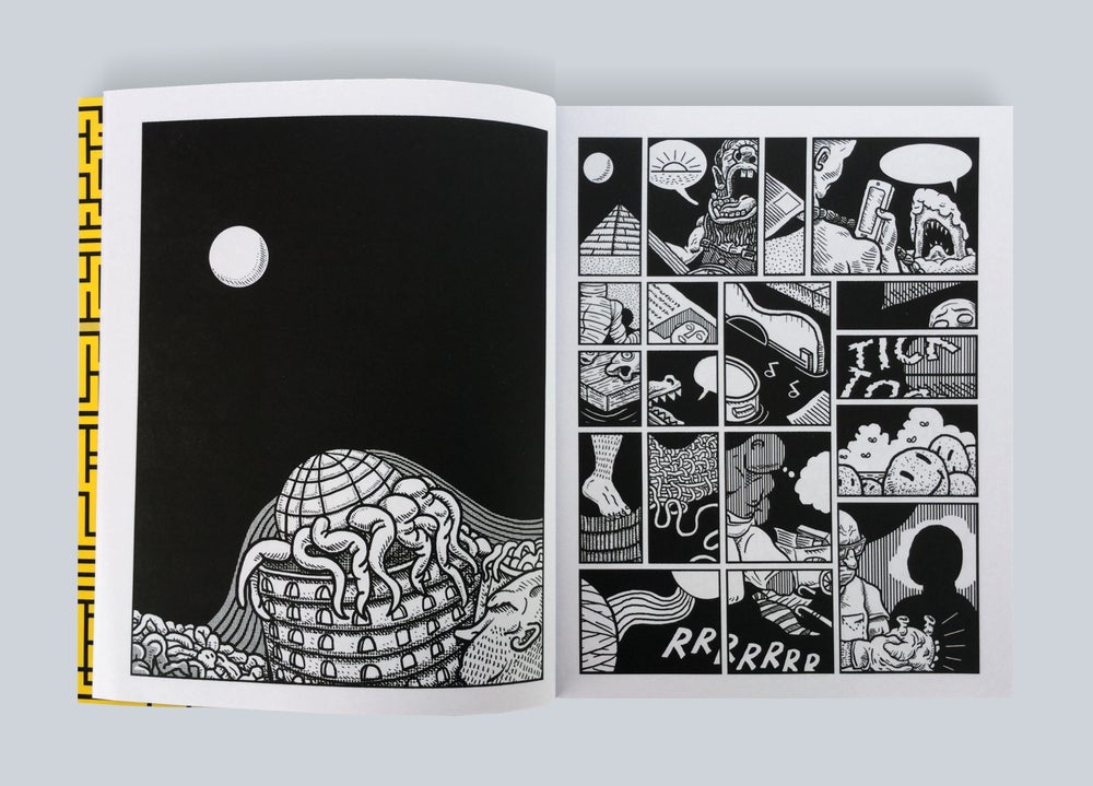 Popnoir Editions — THE NOISELESS DIN by Scott Carruthers