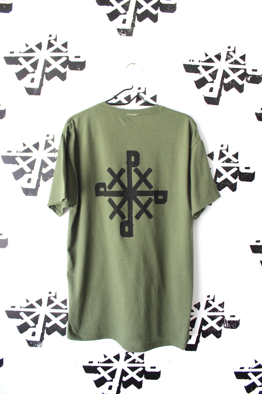have you tried tee in mil green