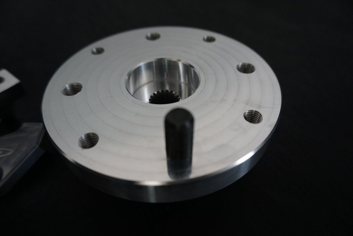 FLP - GY6 Disk Brake hub and Bracket