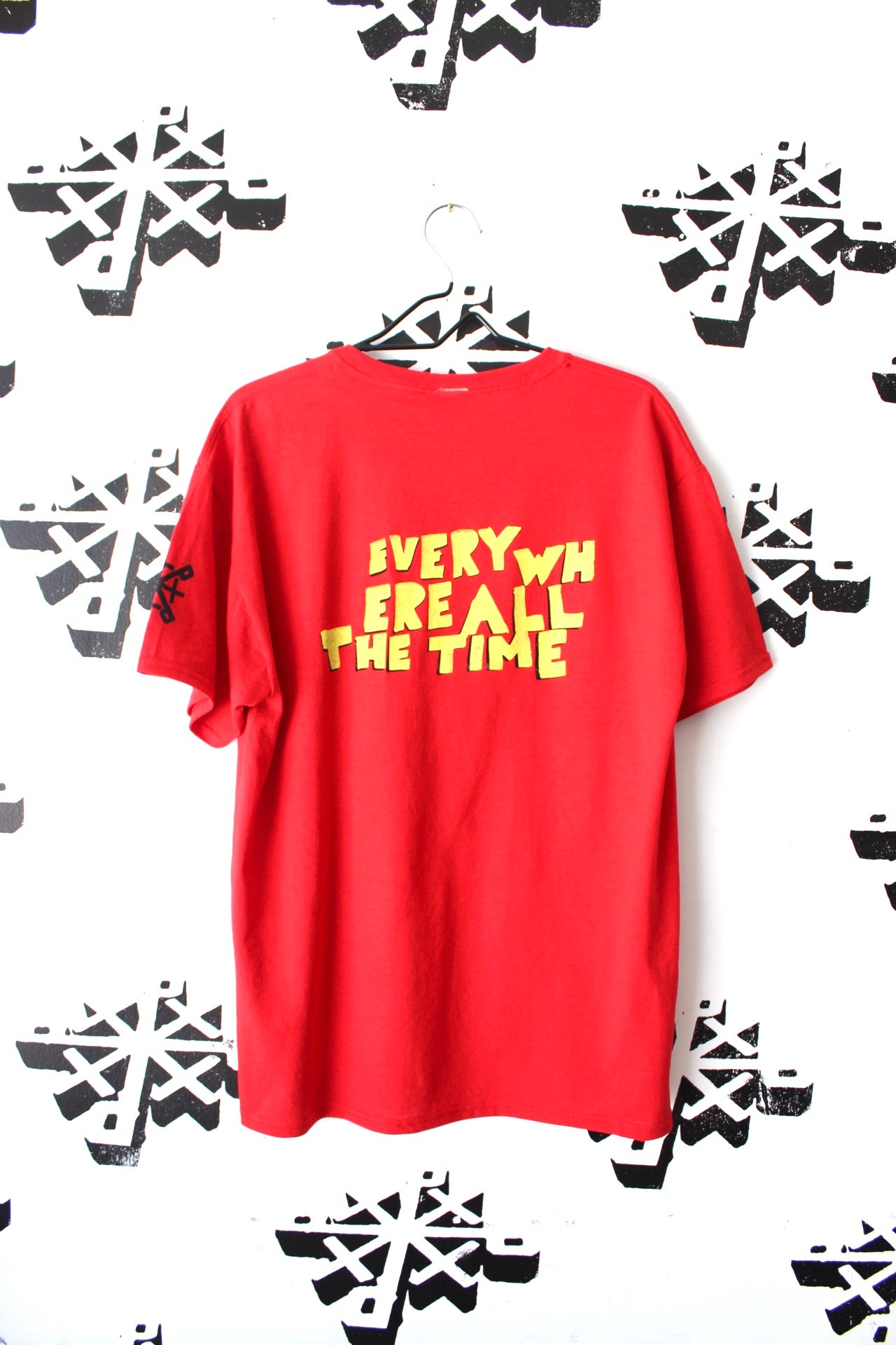 Image of all power tee in red