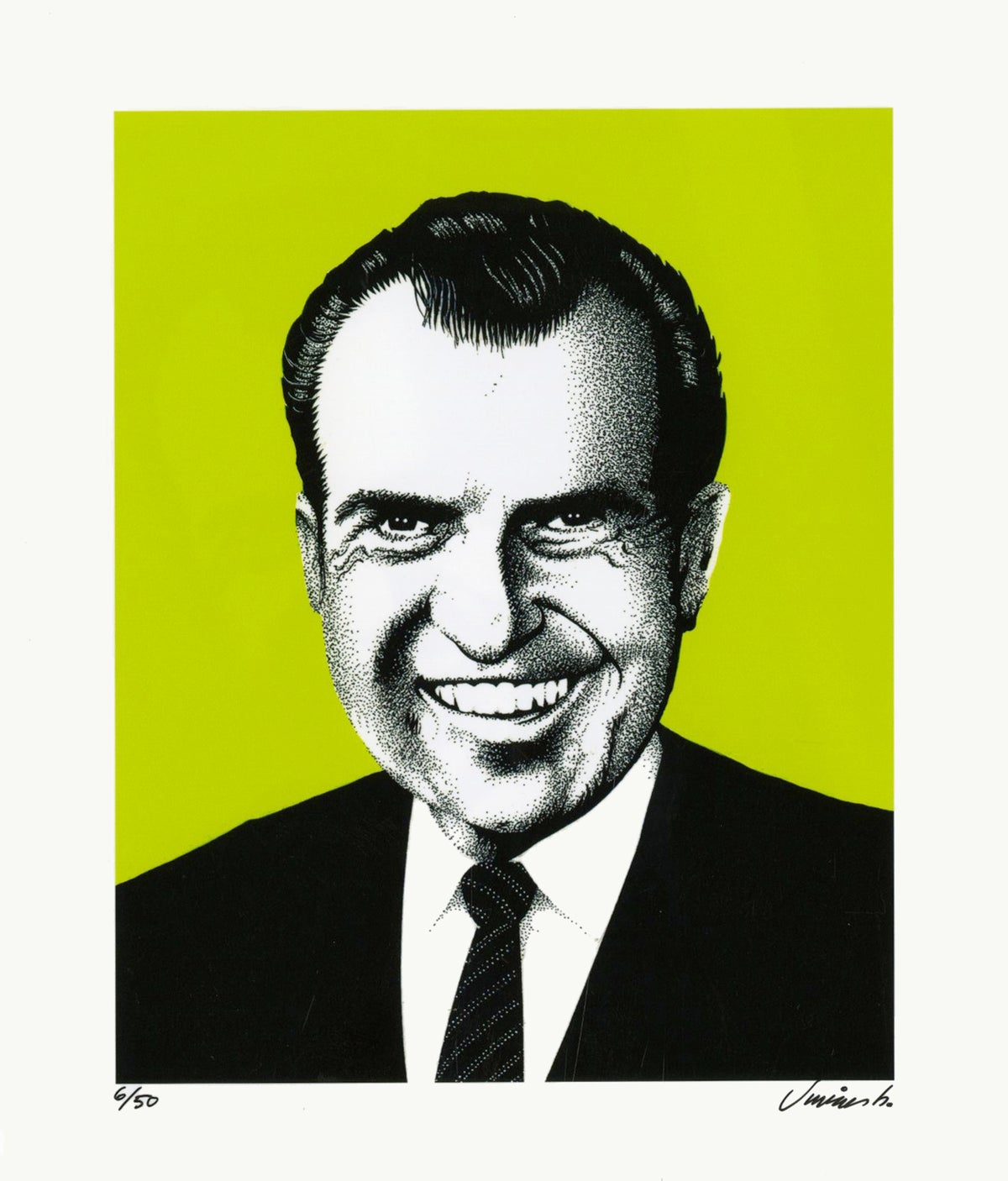 Image of RICHARD NIXON photo print