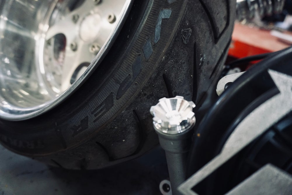 "FLP - Crown Oil Cap ""fits GET stock engine and GY6 """