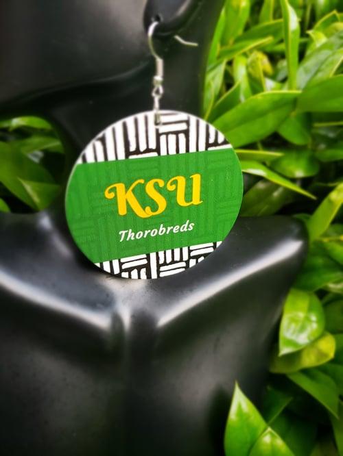 Image of KSU Mudcloth inspired earnings