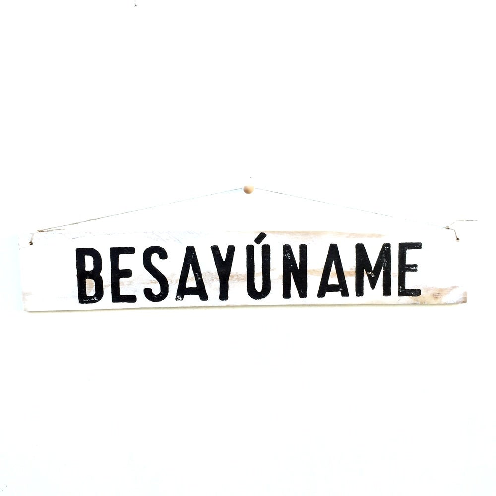 Image of Cartel BESAYÚNAME