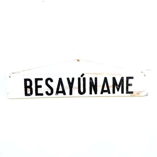 Image of Cartel BESAYÚNAME