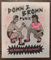 """""""Down & Brown Punx"""" Risograph Print"""