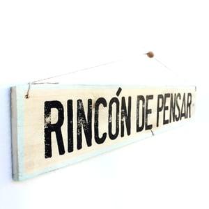 Image of Cartel Rincón de pensar