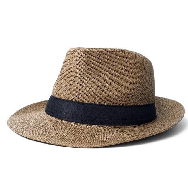 Image of Spring/Summer Wide Brim Fedora Hat