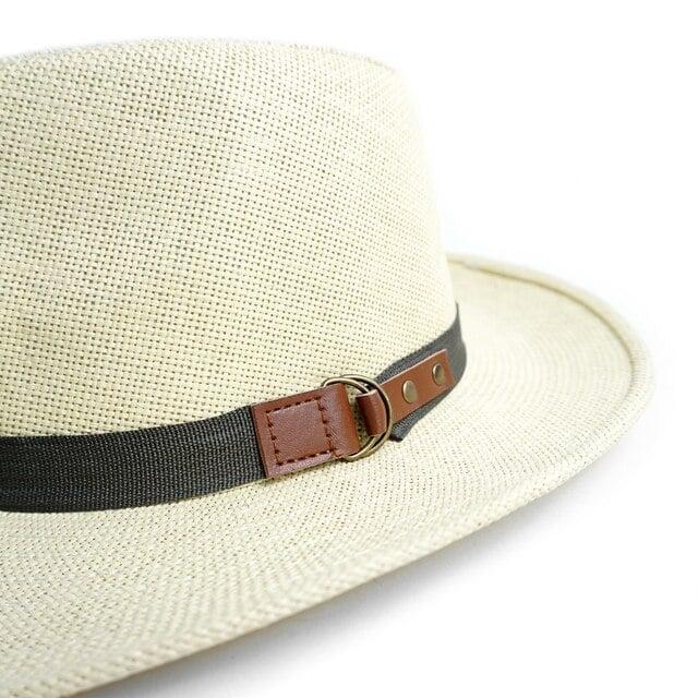 Image of Wide Brim Spring/Summer Panama Fedora Hats