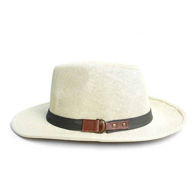 Image of Wide Brim Spring/Summer Panama Fedora Hats