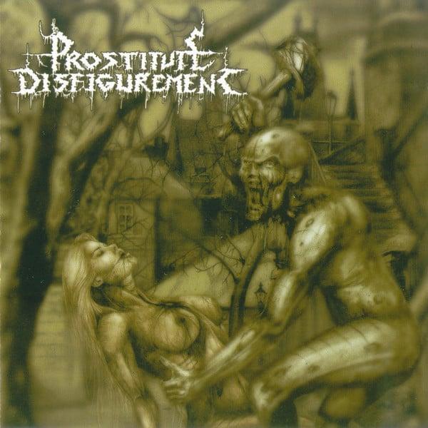 Image of Prostitute Disfigurement - Deeds Of Derangement CD