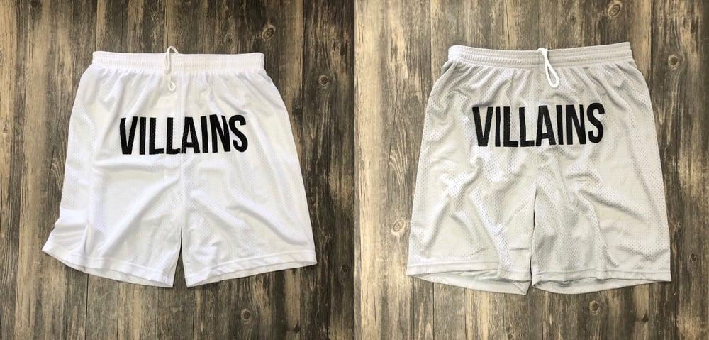 VILLAINS FULL FRONT athletic  shorts