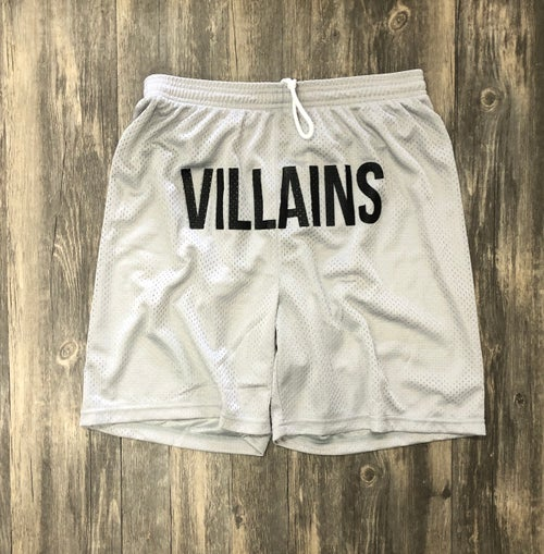 Image of VILLAINS FULL FRONT athletic  shorts