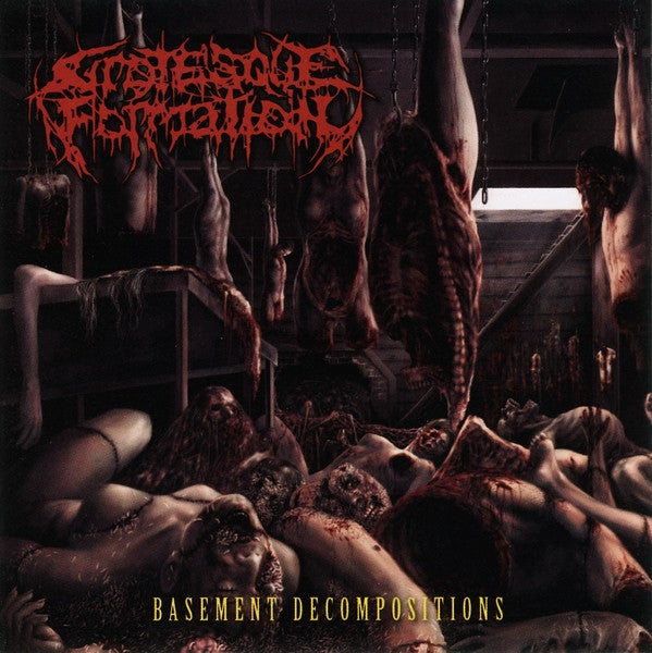 Image of Grotesque Formation - Basement Decompositions CD
