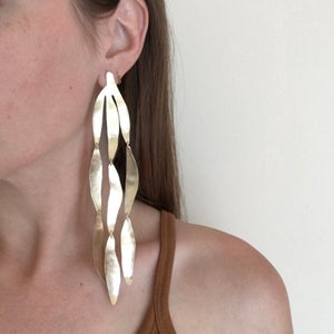 Image of XL willow earring