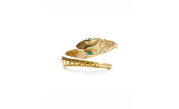 Image of Victorian Snake Ring