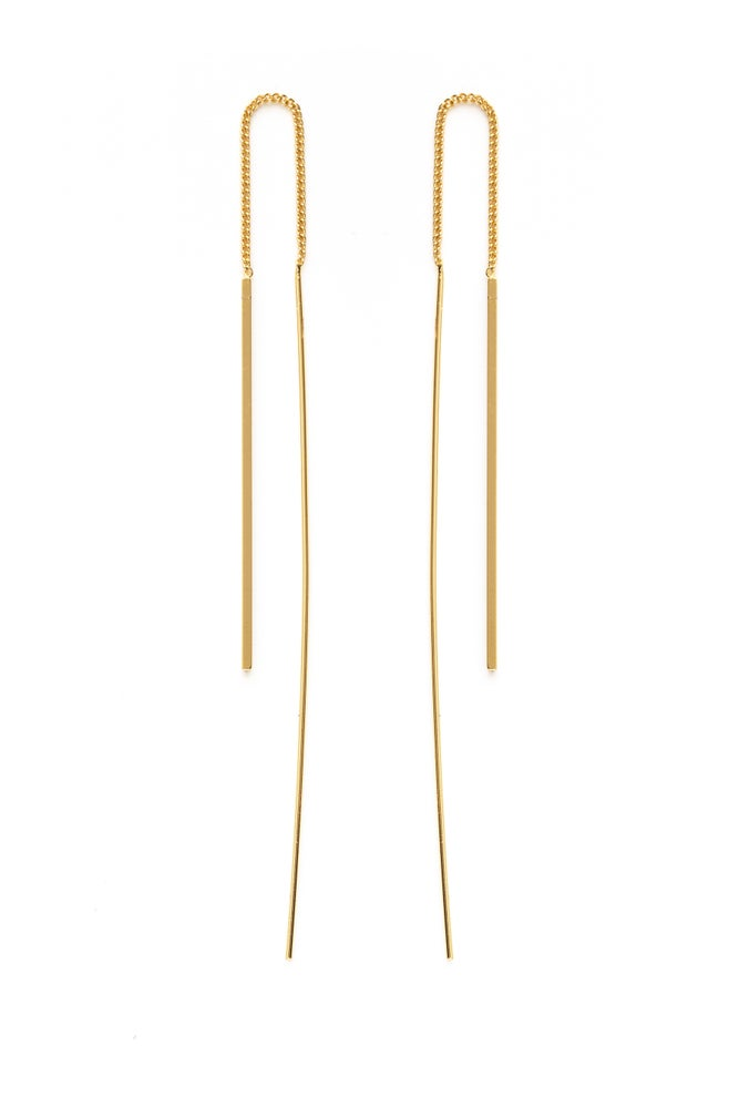Image of Needle and Thread Earrings
