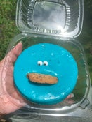 Image of Cookie Monster Cheesecake