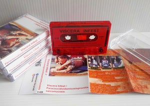 "Image of VISCERA INFEST / PARACOCCIDIODOMICOSIS..""Split Tape"" Tape (2010)"