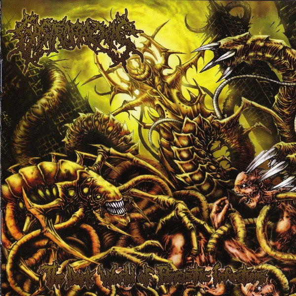 Image of Gastrorrexis - The Dark World Of Parasitic Infections CD