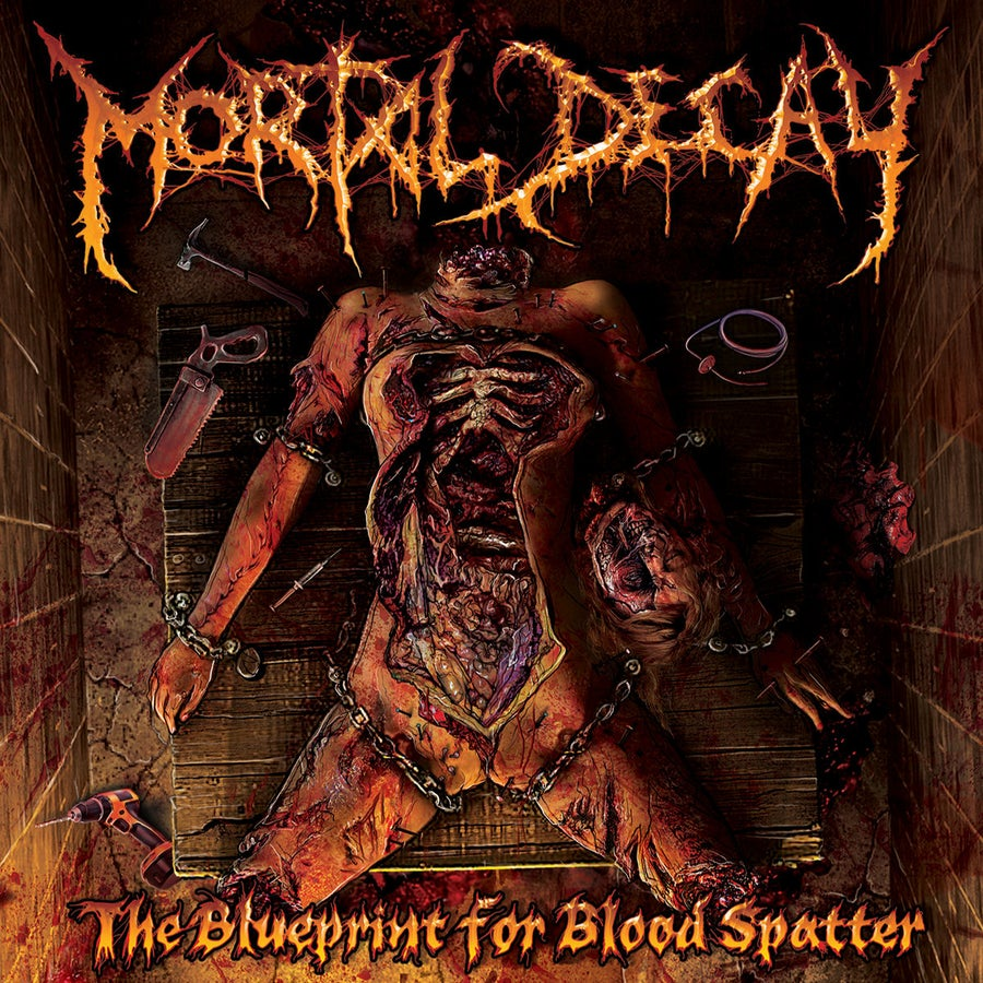 Image of Mortal Decay - The Blueprint For Blood Spatter CD