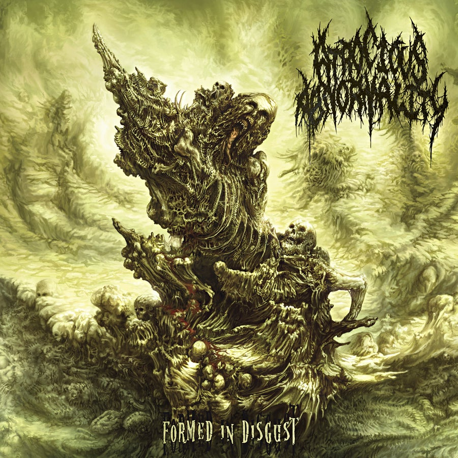 Image of Atrocious Abnormality - Formed In Disgust CD