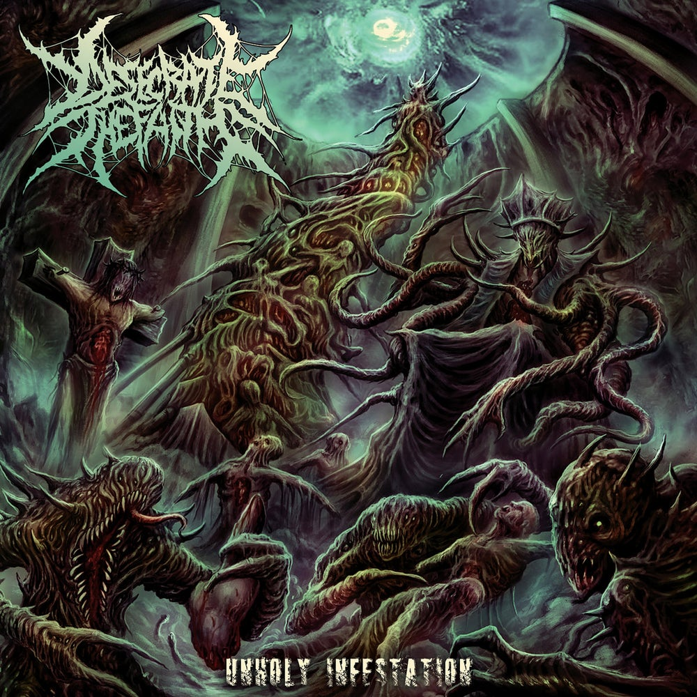 Image of Desecrate The Faith - Unholy Infestation CD