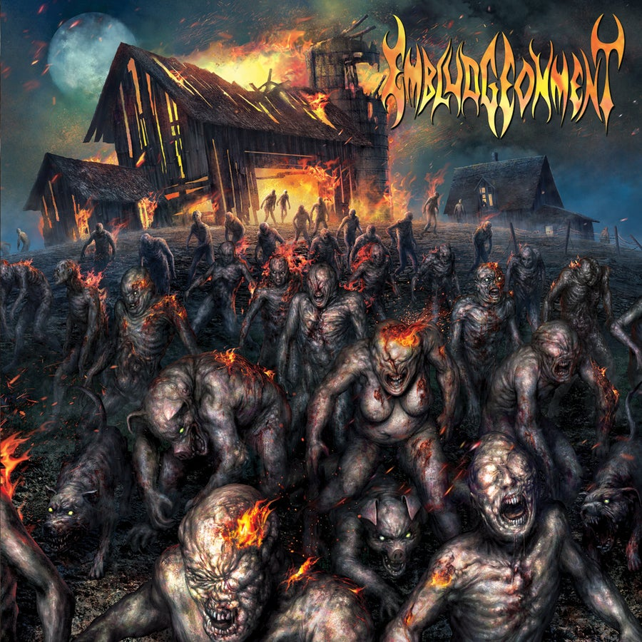 Image of Embludgeonment - Barn Burner CD