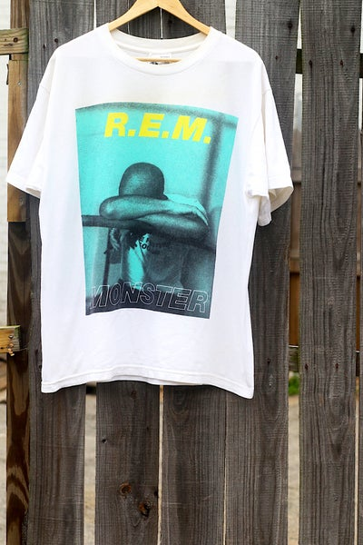"Image of Rare 1995 Vintage ""R.E.M. - MONSTER"" Concert Tee"