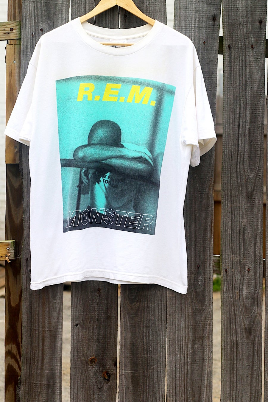 """Image of Rare 1995 Vintage """"R.E.M. - MONSTER"""" Concert Tee"""