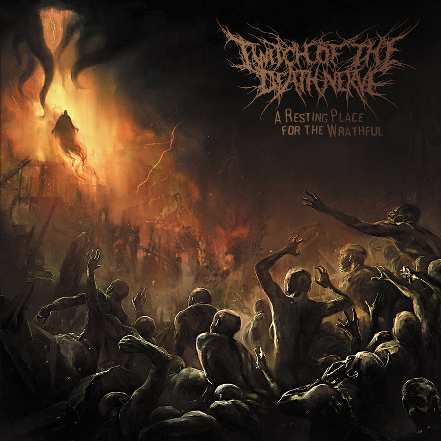 Image of Twitch Of The Death Nerve - A Resting Place For The Wrathful CD